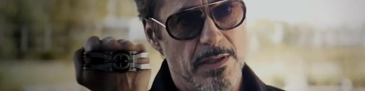 Tony Stark (Robert Downey Jr) dans Avengers: Endgame
