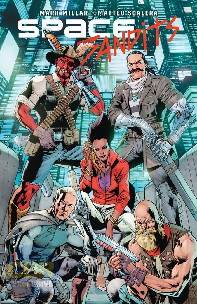 Space Bandits #1 par Bryan Hitch