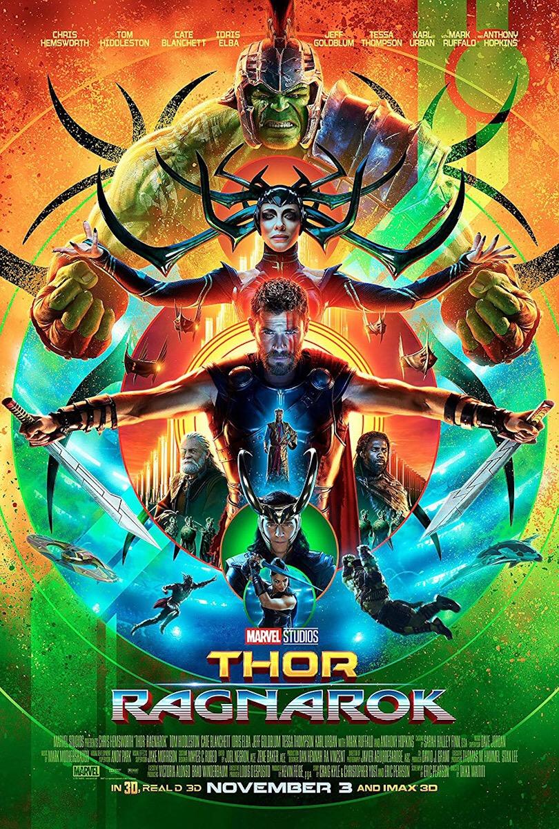 Affiche Thor 3 : Ragnarok
