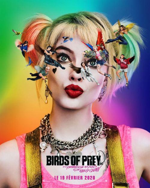 affiche Birds of Prey (et la fantabuleuse histoire d'Harley Quinn)
