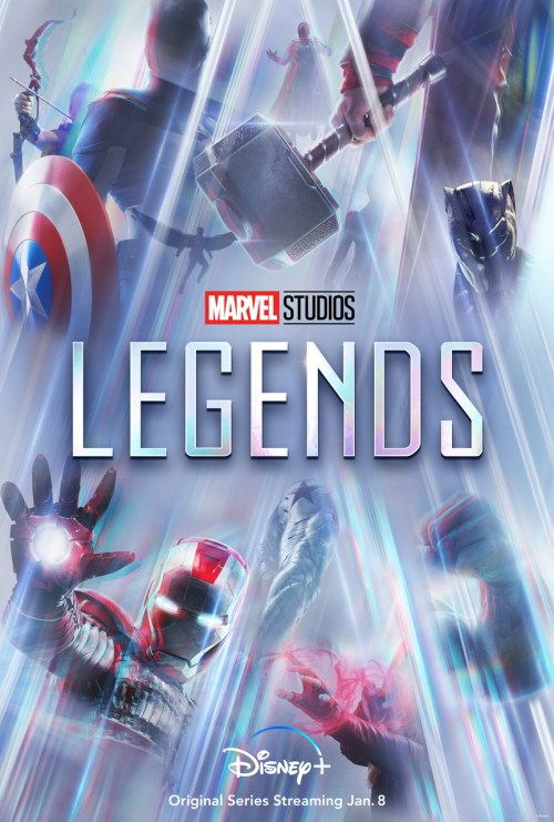 affiche Marvel Studios: Legends