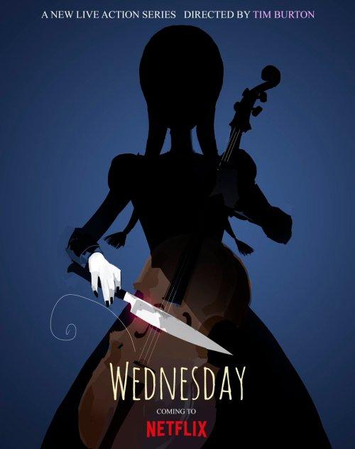 affiche Wednesday