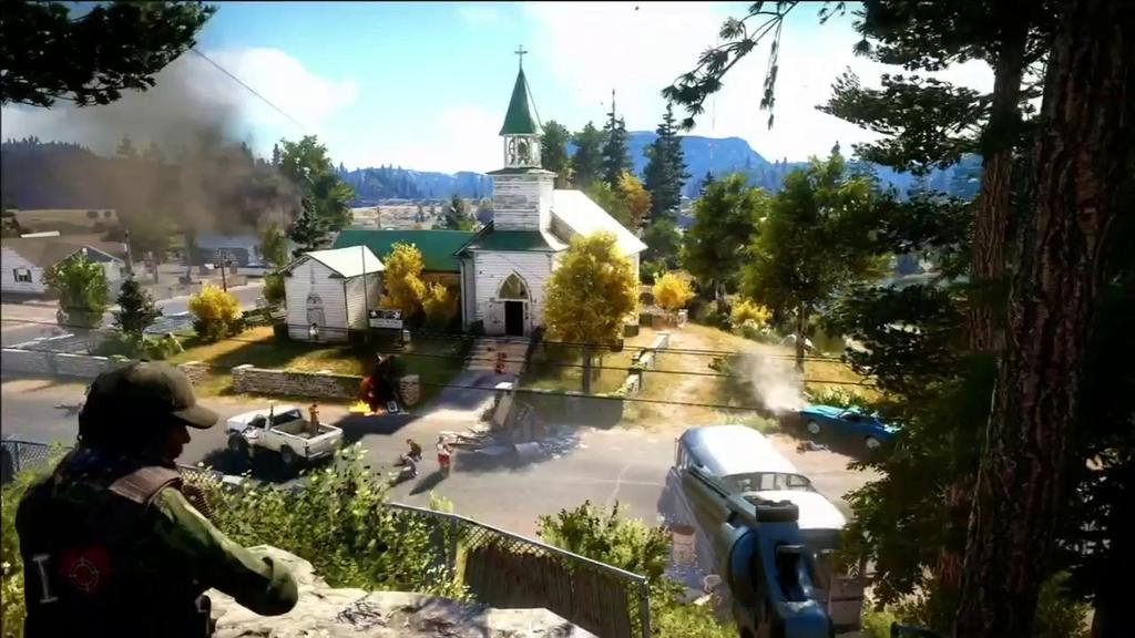 Far Cry 5, Great Open World, Poor Story The Super Powered