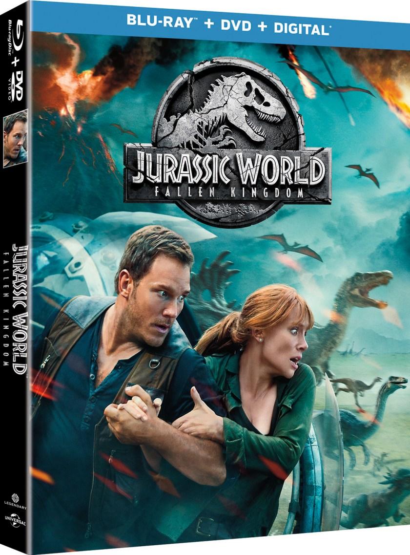 Jurassic World Fallen Kingdom 3D BD Box Art