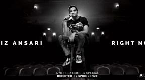 """""""Aziz Ansari Right Now"""" premieres today on Netflix"""