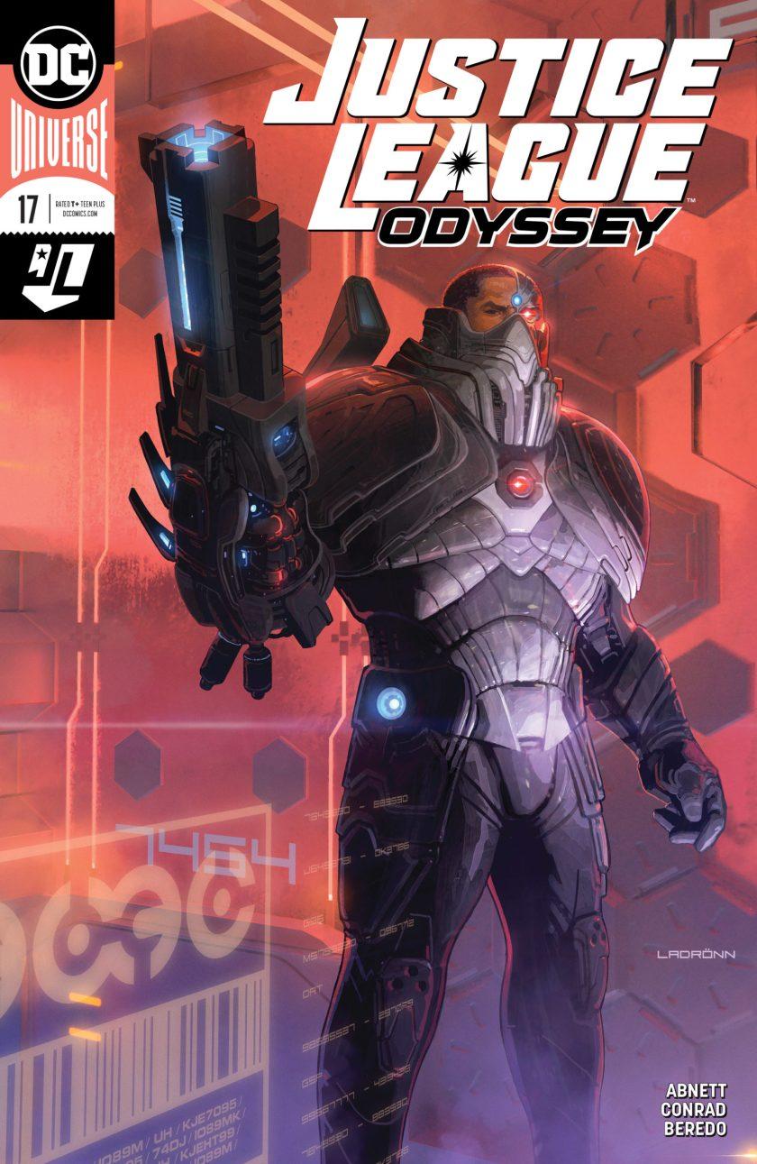 Justice League Odyssey #17