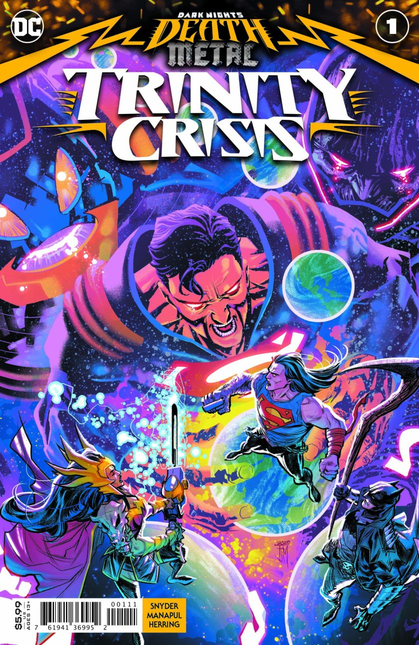 Dark Nights Death Metal Trinity Crisis #1
