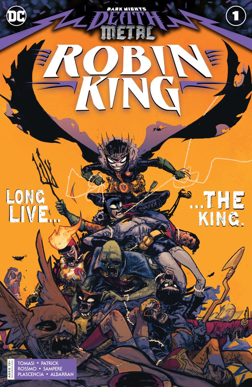 Dark Nights Death Metal Robin King #1
