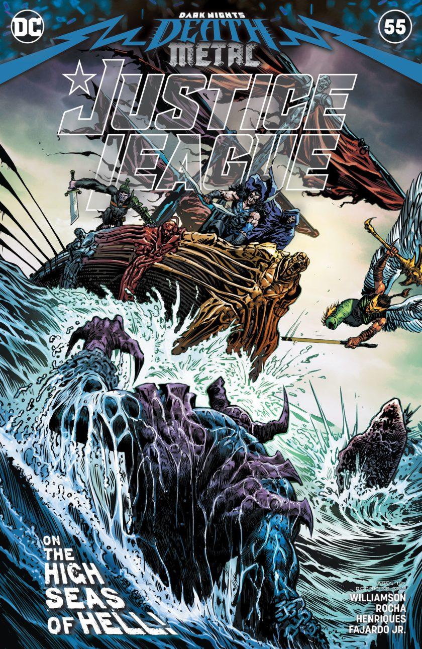Justice League #55