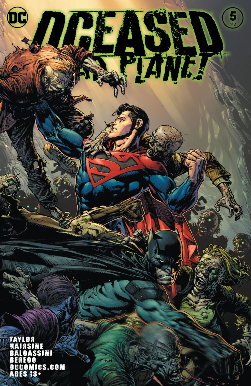 DCeased Dead Planet #5
