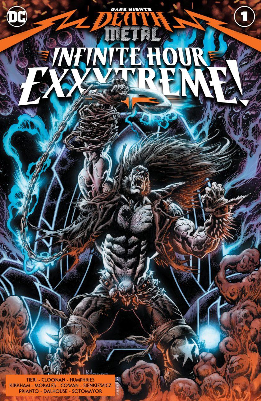 Dark Knights: Death Metal Infinite Hour Exxxtreme #1