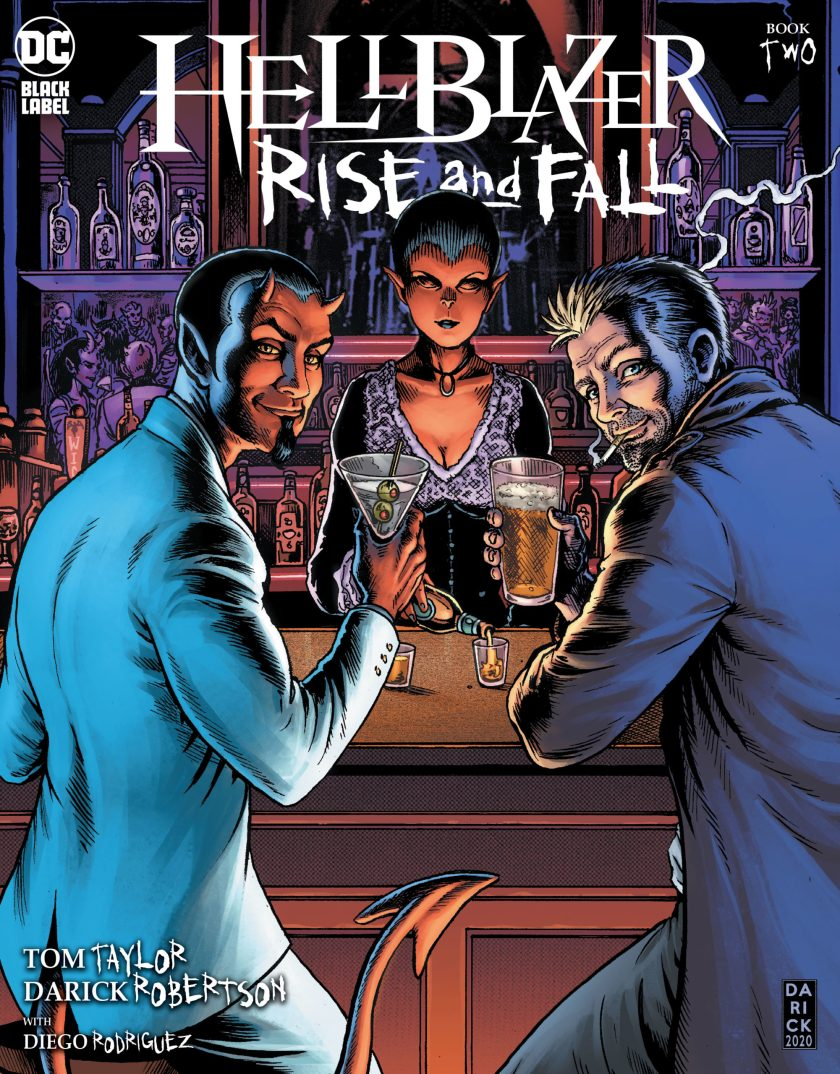 Hellblazer Rise and Fall #2