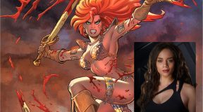Hannah John-Kamen to star as 'Red Sonja' in New film from Dynamite Entertainment