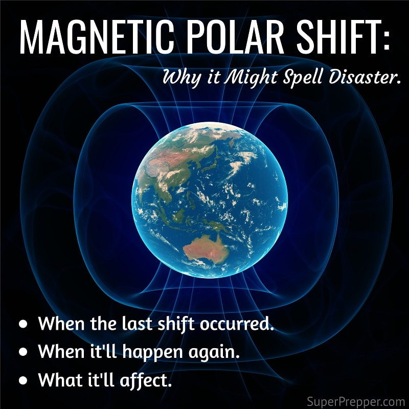 Image result for earth magnetic shift