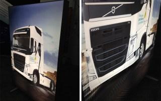 Caseta Luminoasa Backlit Textil - Volvo Trucks