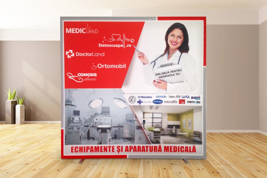 Rama cu Poster Textil – Medicland