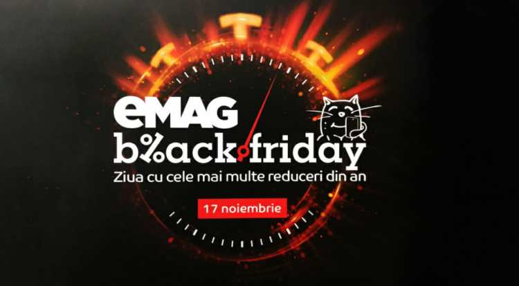 Cel mai mare Black Friday din Romania – eMAG, un marketplace de 5 stele