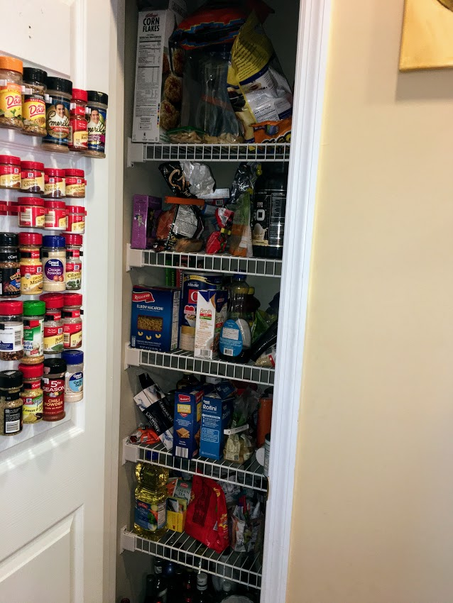 pantry inventory, meal planning
