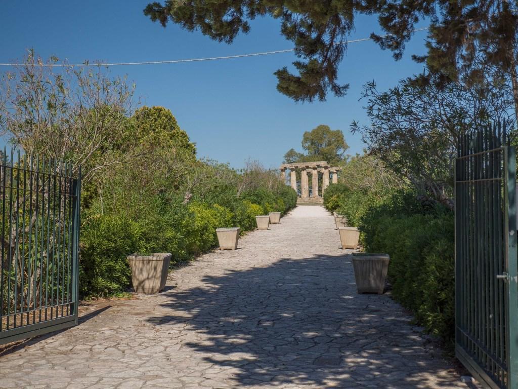 Tavole Palatine Site Entrance