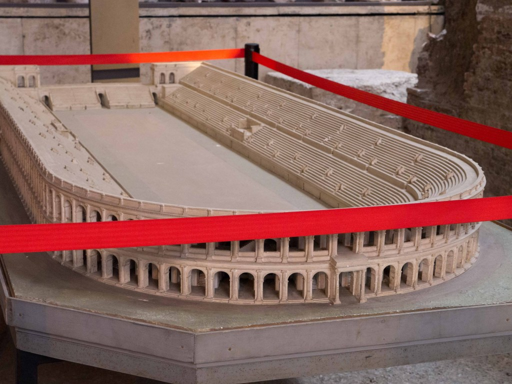 Stadium of Domitian Scale Model