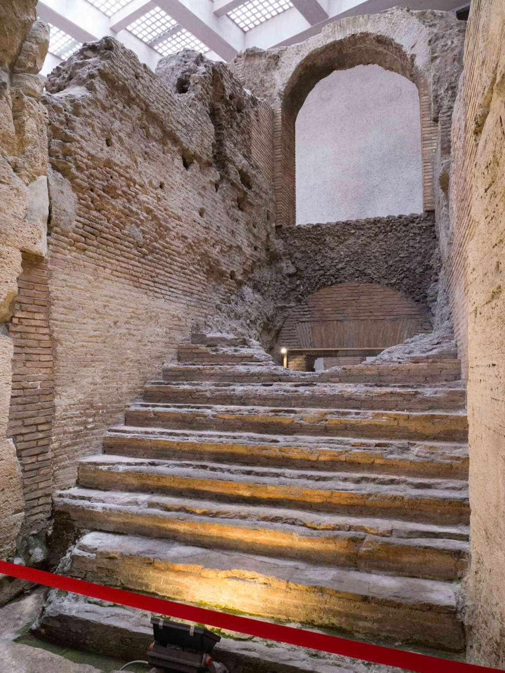 Stairs at Stadium of Domitian
