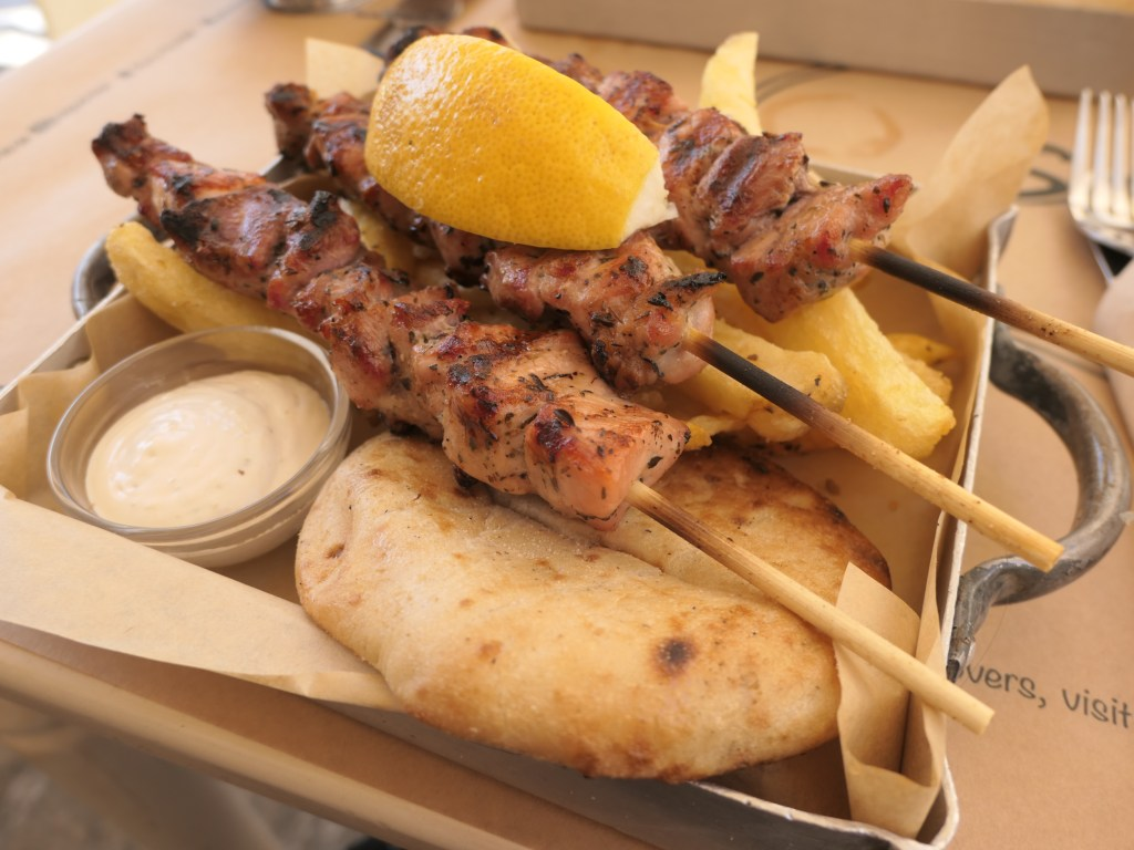 Chicken Souvlaki Spears