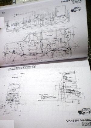 IH Service 1980 Body Builder Book, Scout II, Medium & Heavy Duty