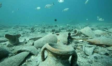 Reperti romani nei fondali dell'Asinara