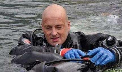 A caccia di relitti nel Lago di Como
