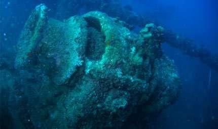 L'incrociatore Deffenu, il relitto di Brindisi