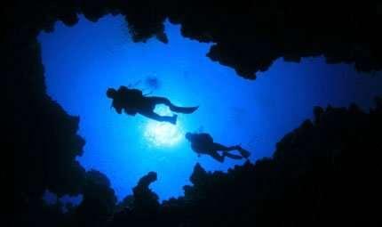 Record di immersione in grotta