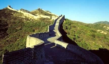 La Grande Muraglia cinese corre anche sott'acqua