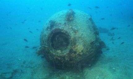 Turchia, rinvenuta antica mina a Bodrum