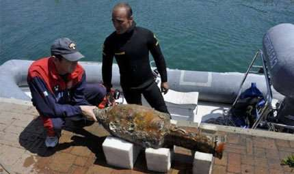 Archeologia subacquea: relitto romano in Liguria