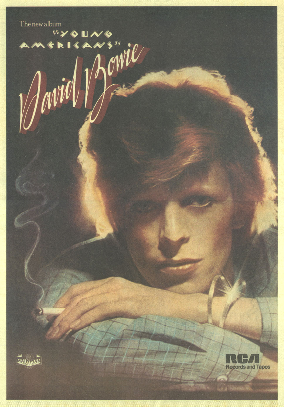 Americans Young David Bowie