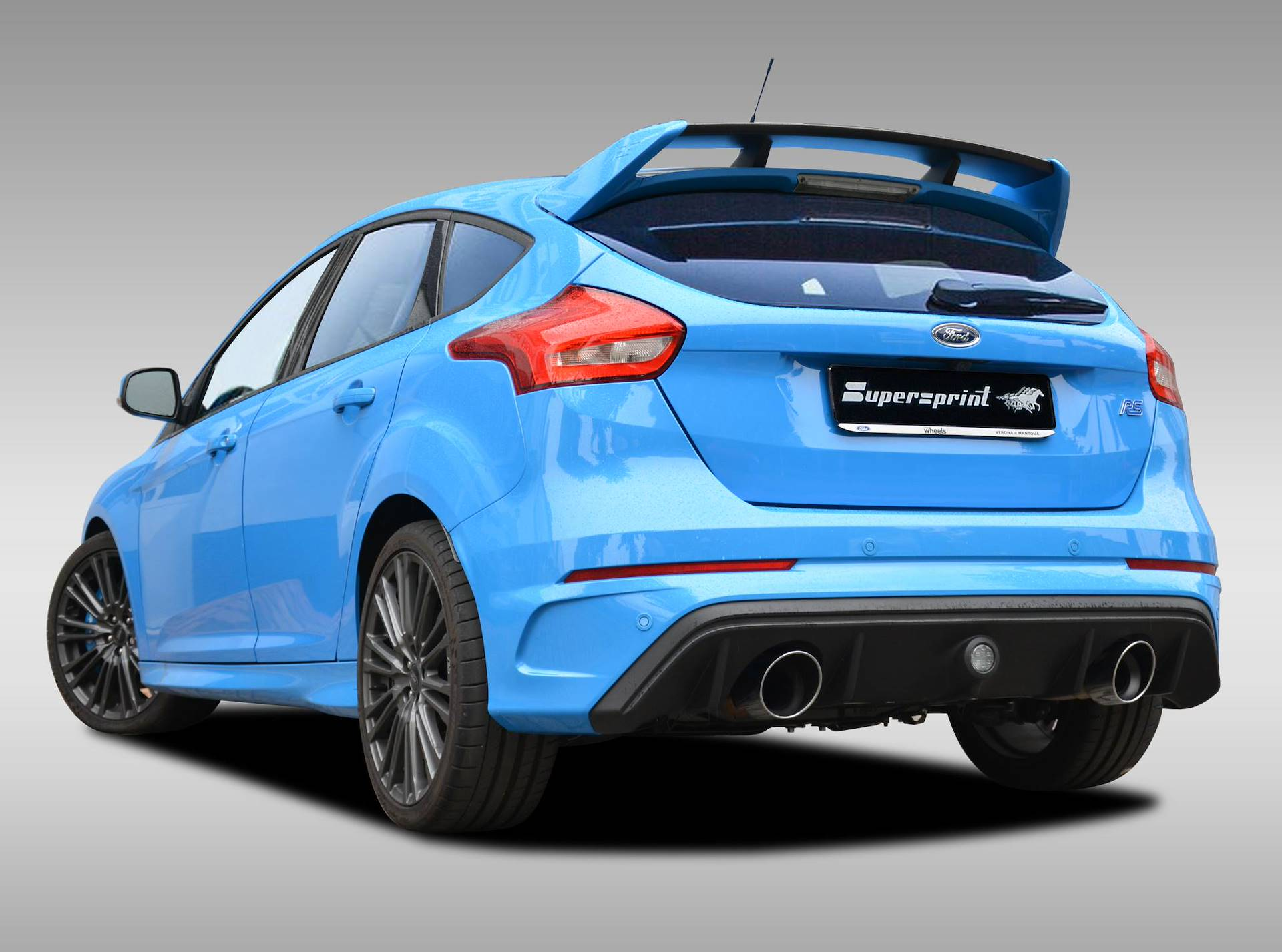 supersprint exhaust for ford focus rs 2