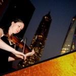 Bonny Buckley performing at a wedding in Shanghai