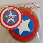 Galletas de Capitán América