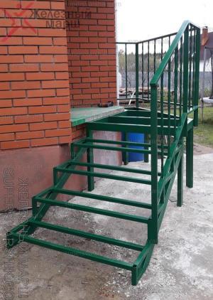 наружные лестницы для крыльца из металла