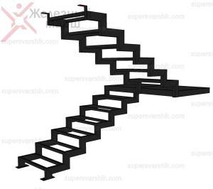 заказать металлическую лестницу