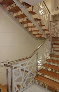 Ограждения для лестницы из лазерной резки