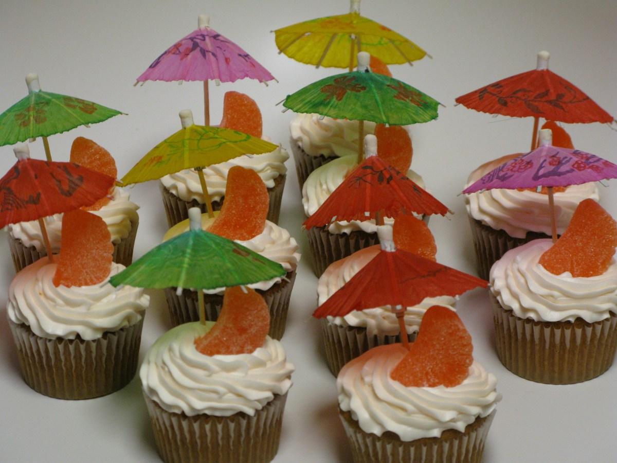 Mai Tai Cupcakes