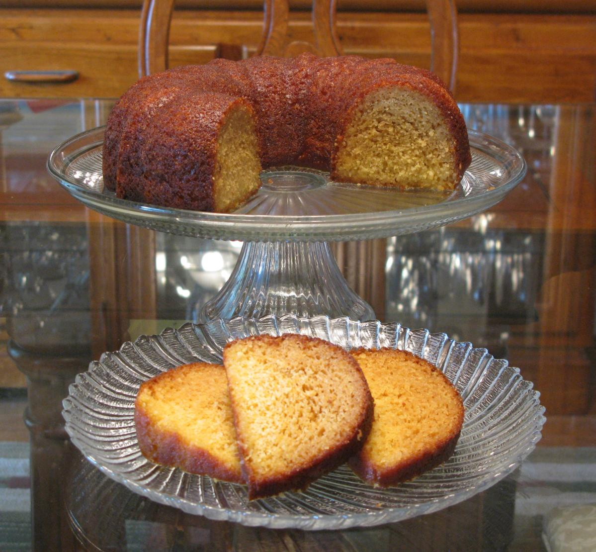 Pineapple Coconut Rum Cake
