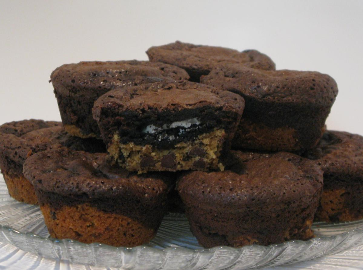 Triple Layer Brownies