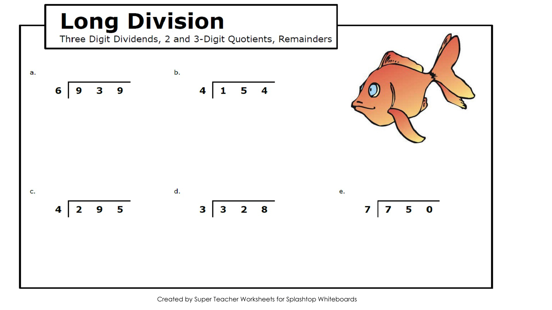 Worksheet Long Division Printable Worksheets Grass Fedjp