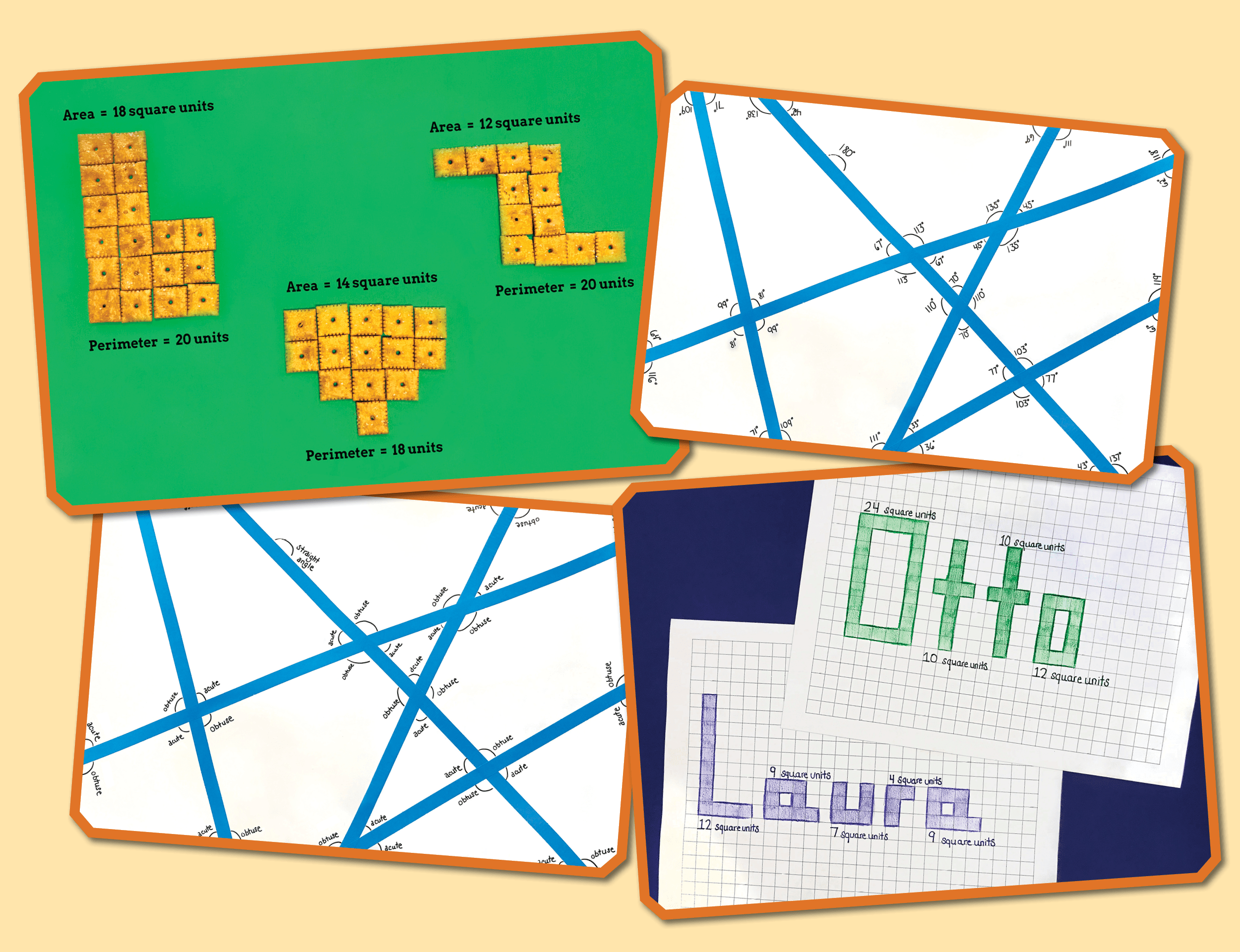 Angles Area And Perimeter Practice
