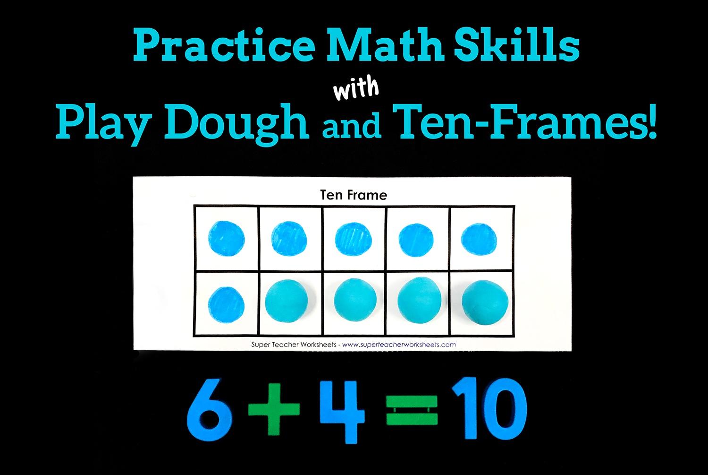 Play Dough Ten Frames