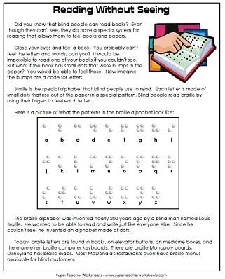 Reading Comprehension 5th Grade Worksheets