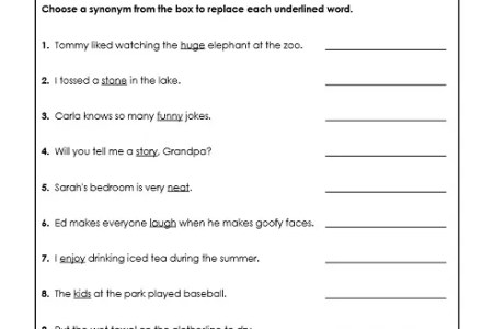 Best Free Fillable Forms List Of Synonyms And Antonyms Pdf Free
