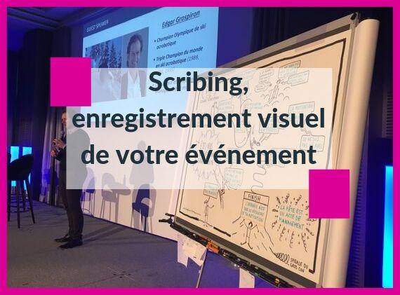 Scribing enregistrement visuel